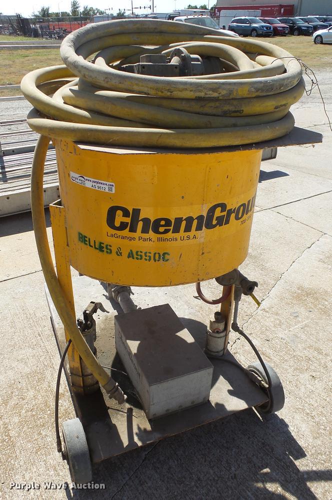 Chem Grout grout mixer