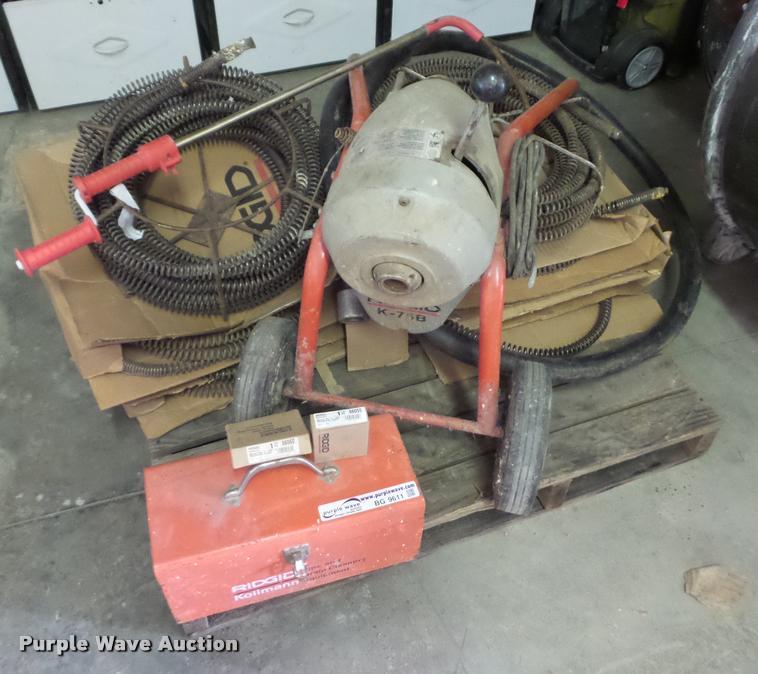 Rigid K-75B drain cleaner