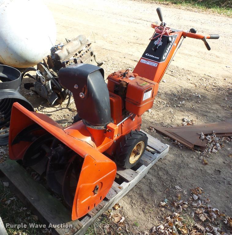 Gilson snow blower