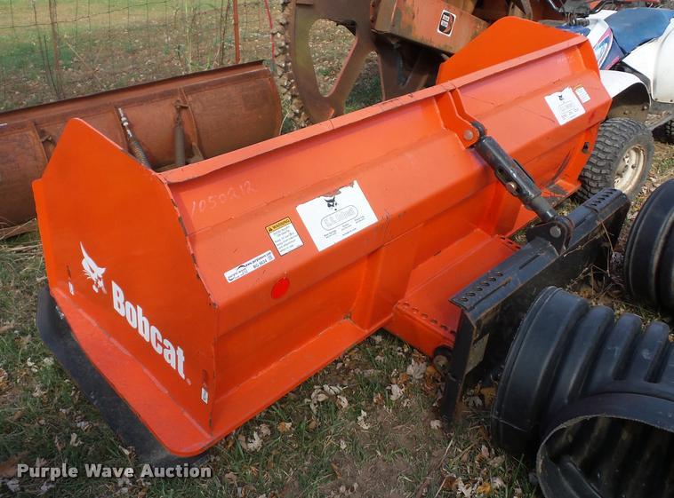 Bobcat skid steer box blade