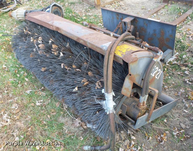 Sweepster skid steer broom
