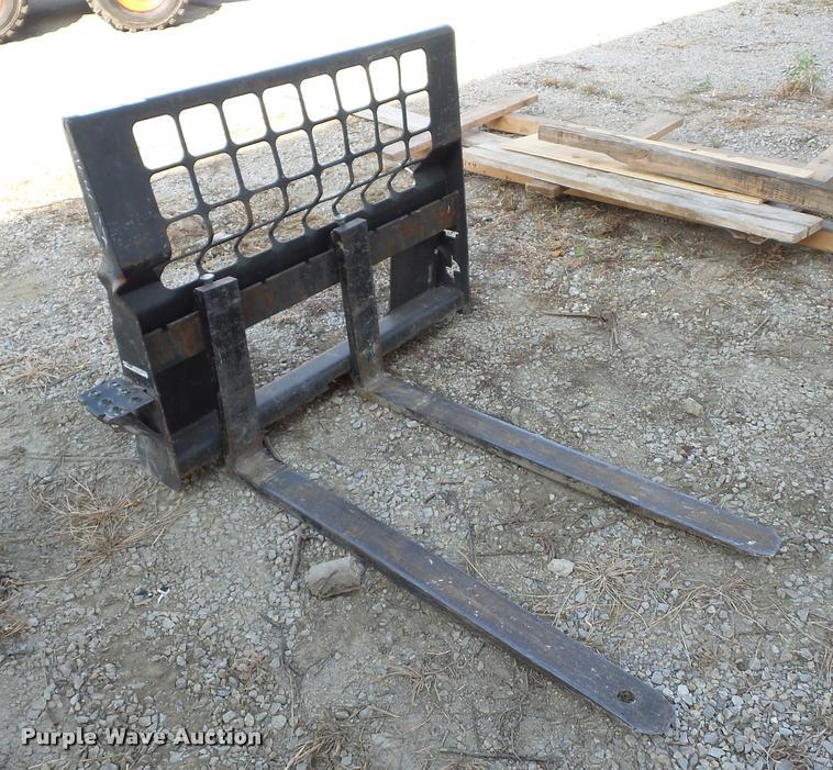 Bobcat skid steer forks