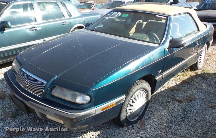 1993 Chrysler Lebaron LX convertible