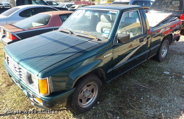1993 Mitsubishi Mighty Max Sport pickup truck