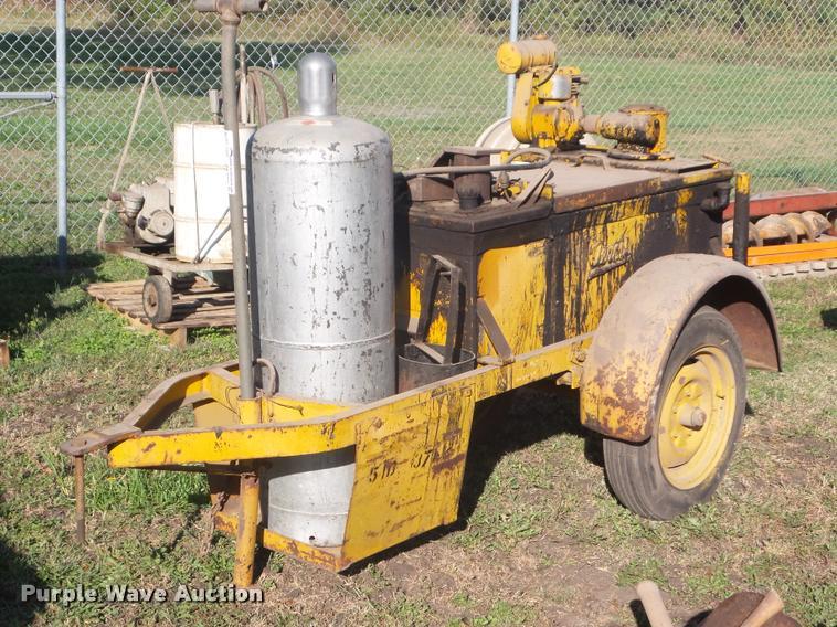 Oeroil 12015DVP tar kettle