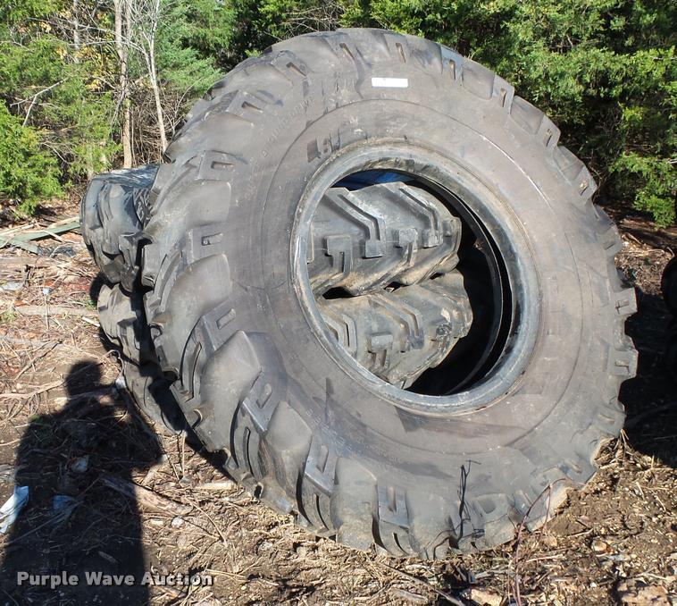 (4) United 18.00-33 tires