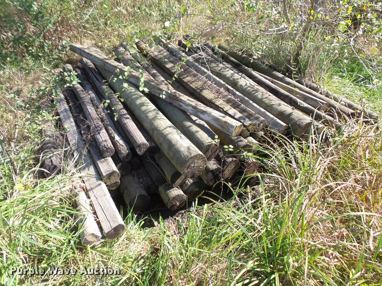 Posts and railroad ties