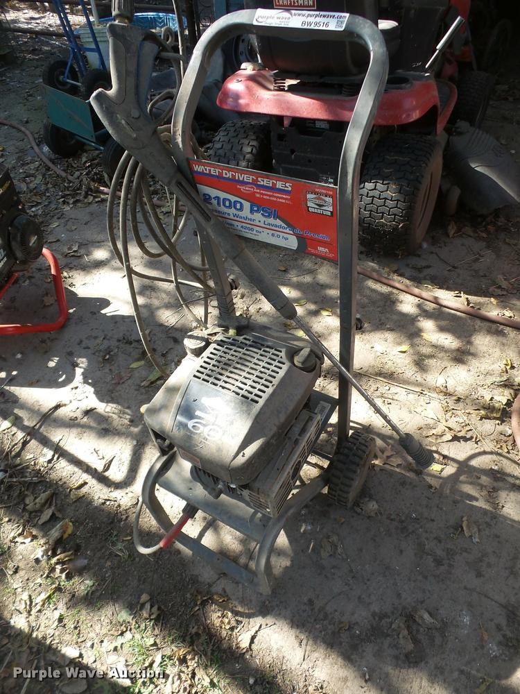 Water Driver Series pressure washer