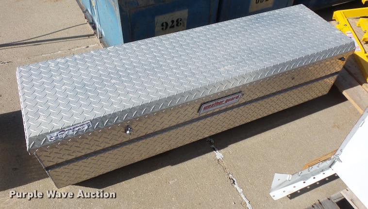 Tread plate toolbox