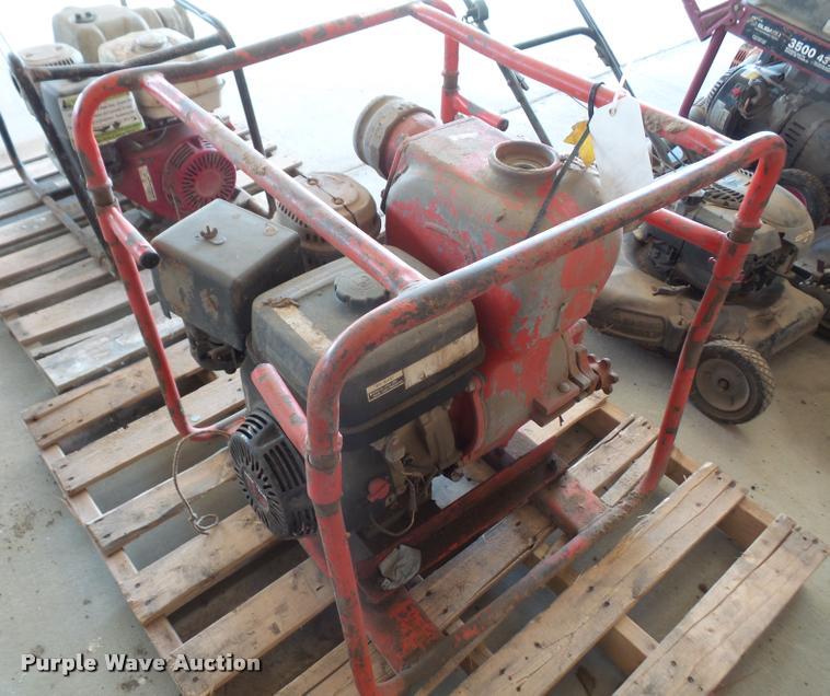 Multi Quip trash pump