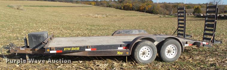 2008 Doolittle TH-8418 equipment trailer