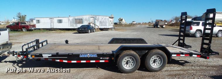2016 Load Trail CH14 equipment trailer