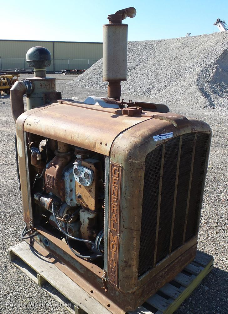 General Motors power unit
