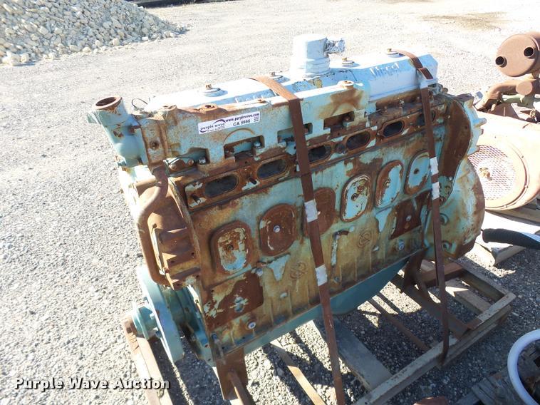 Detroit Diesel six cylinder diesel engine