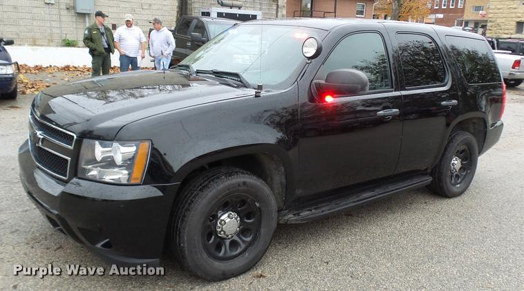 2011 Chevrolet Tahoe Police SUV