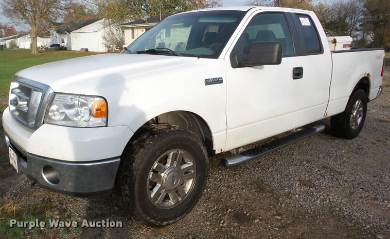 2008 Ford F150 SuperCab pickup truck