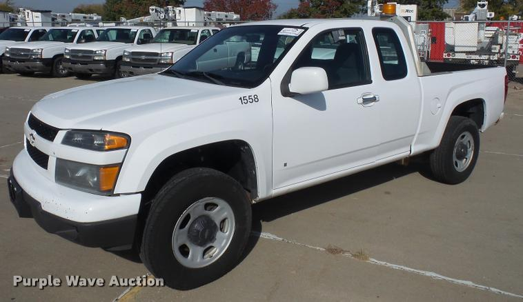 2009 Chevrolet Colorado Ext. Cab pickup truck
