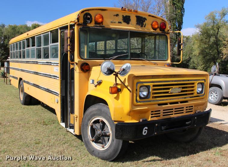 1986 Chevrolet C60 bus