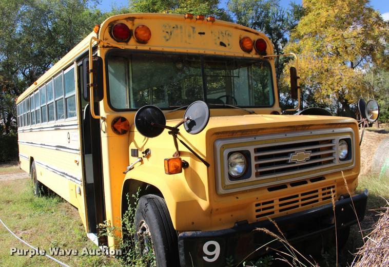 1988 Chevrolet C60 bus