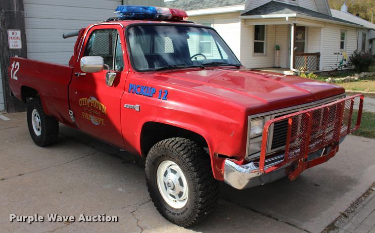 1986 GMC Sierra 2500 pickup truck