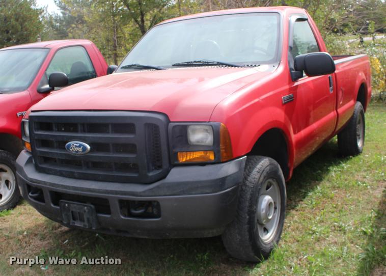 2006 Ford F250 Super Duty pickup truck