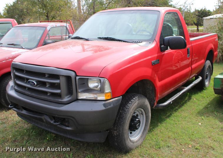 2003 Ford F250 Super Duty XL pickup truck