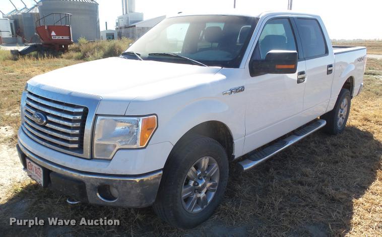 2011 Ford F150 XLT SuperCrew pickup truck