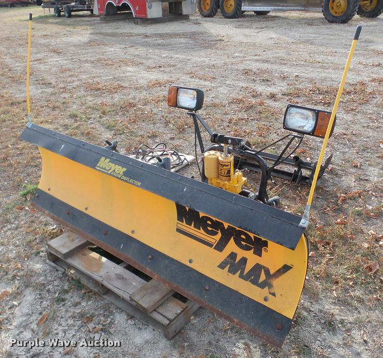 Meyer TMP 6.5 snow plow
