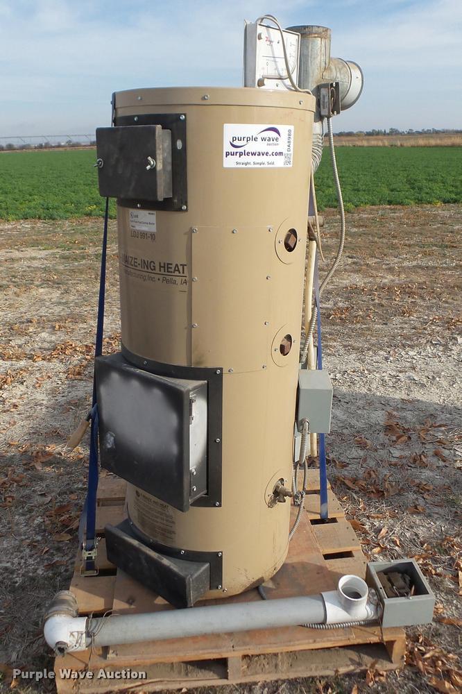 A-Maize-Inc LDJ991-10 corn/pellet boiler
