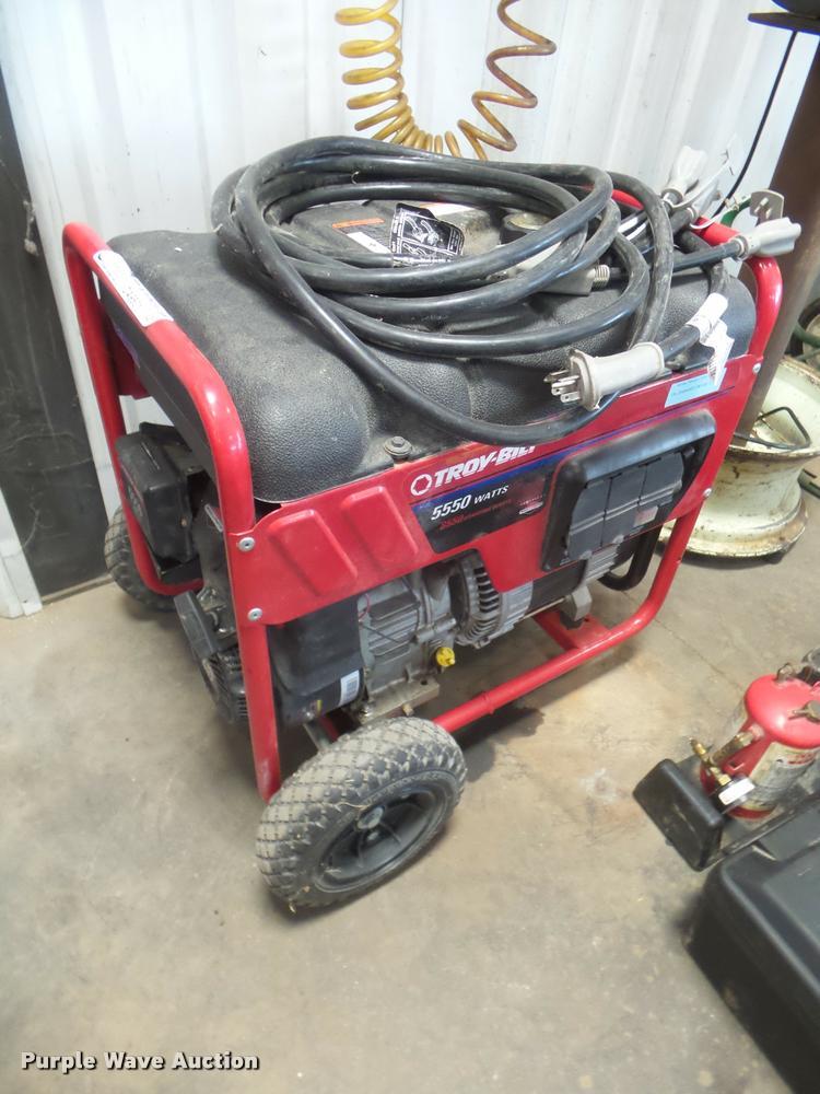Troy-Bilt generator
