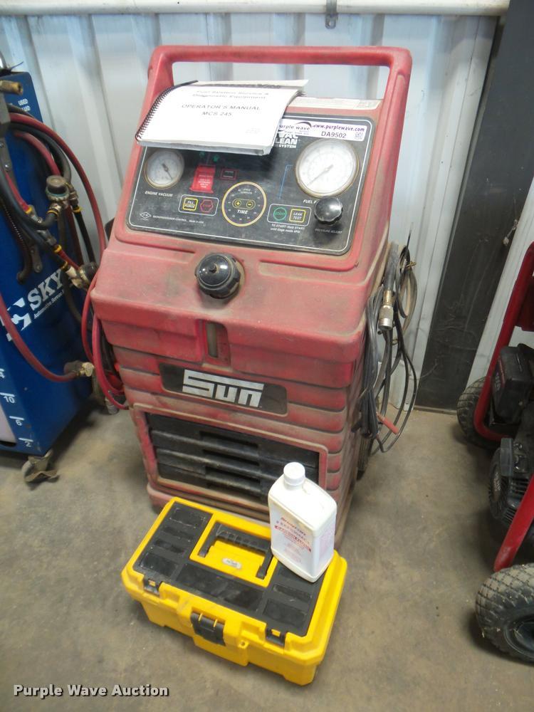 SUN EEFS100C motor vacuum system