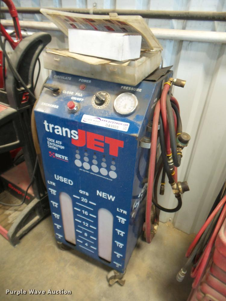 Trans Jet transmission flush system