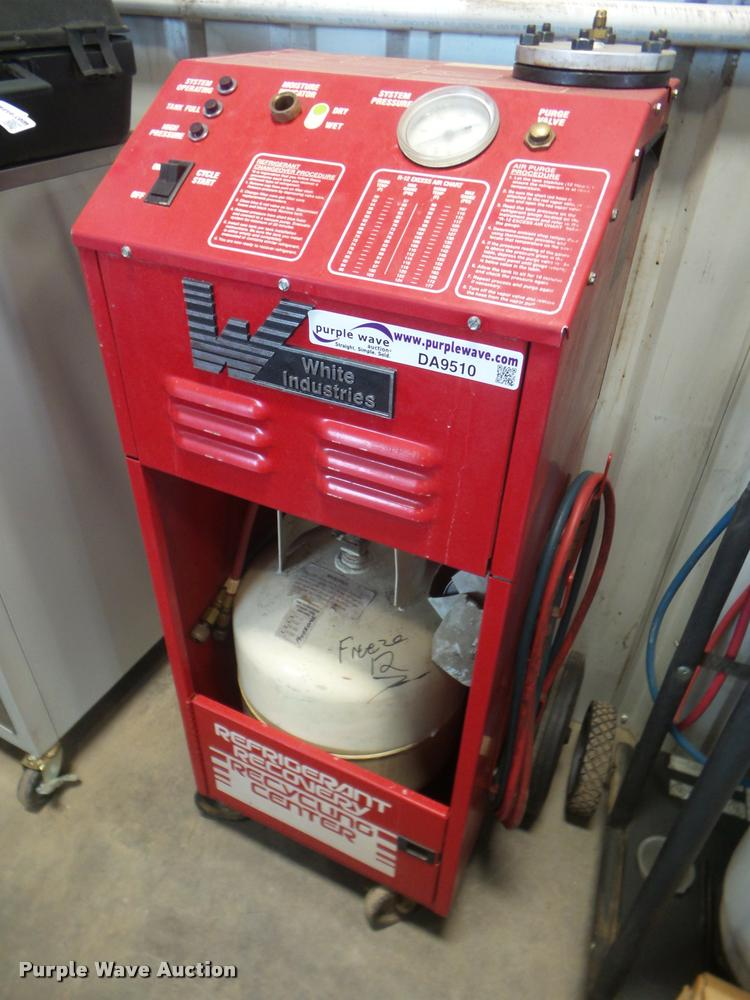 White Industries 0160 R12 refrigerant recycler