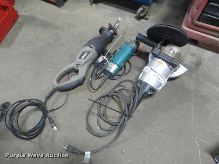 (2) Makita right angle grinder