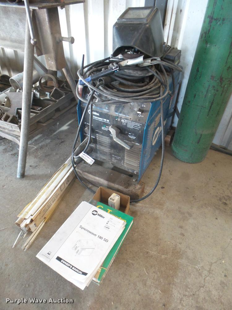 Miller Syncrowave 180SD tig welder