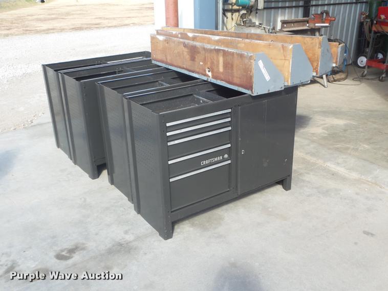 (4) Craftsman work benches