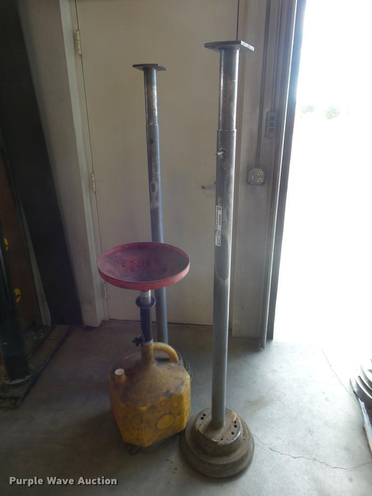 (2) adjustable work stands