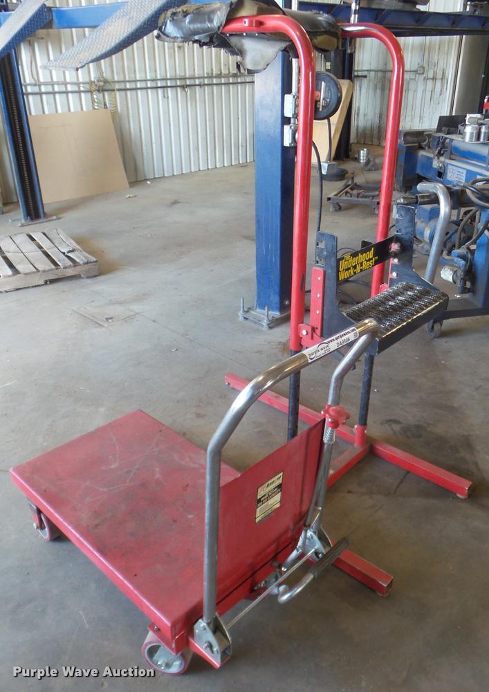 Ranner RLT500 hydraulic lift cart