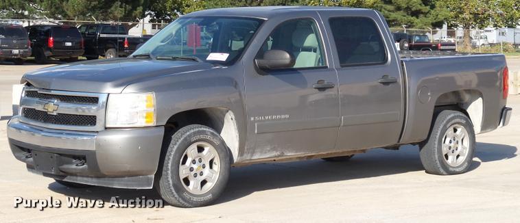 2008 Chevrolet Silverado 1500 LT Crew Cab pickup truck