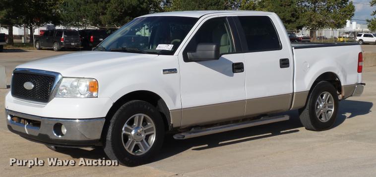 2007 Ford F150 XLT SuperCrew pickup truck