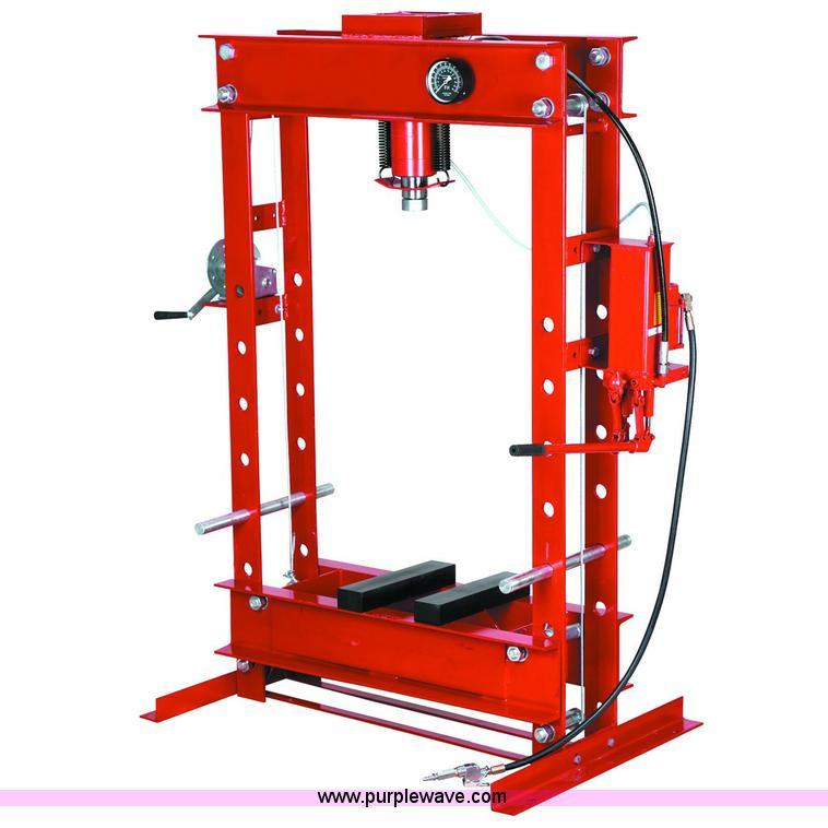 Dual speed hydraulic shop press