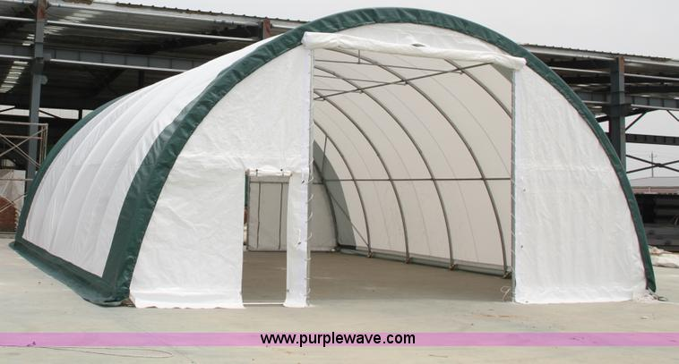 Dome storage building