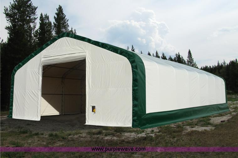 40' x 80' x 21' double truss storage building