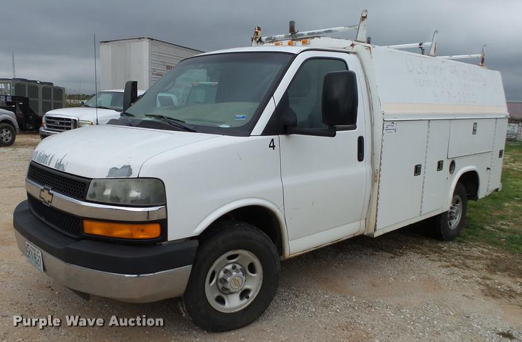 2004 Chevrolet Express 3500 Cargo utility van