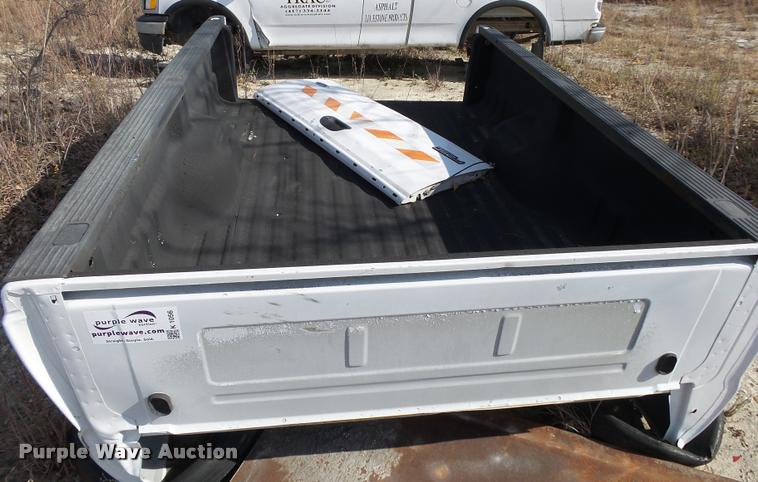 Ford F250 pickup truck bed