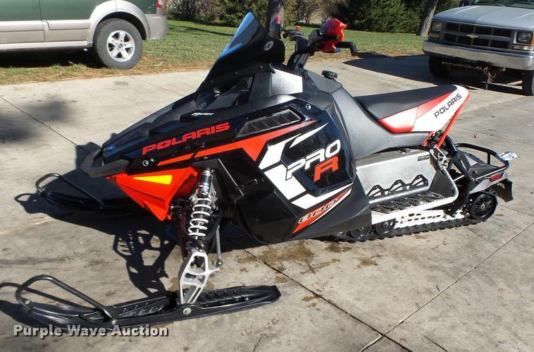 2012 Polaris Rush 800 Pro R snowmobile