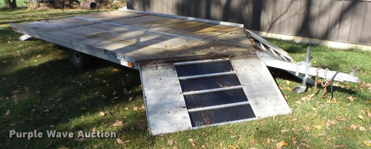 2001 Chilton SD22-12E2A-2 utility trailer