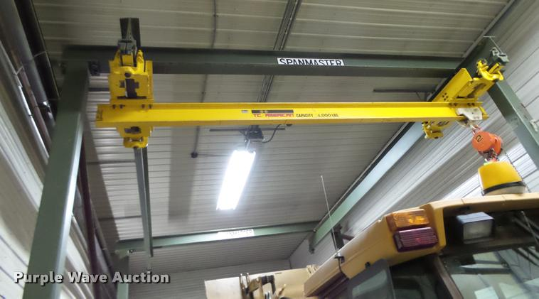 Spanmaster shop crane