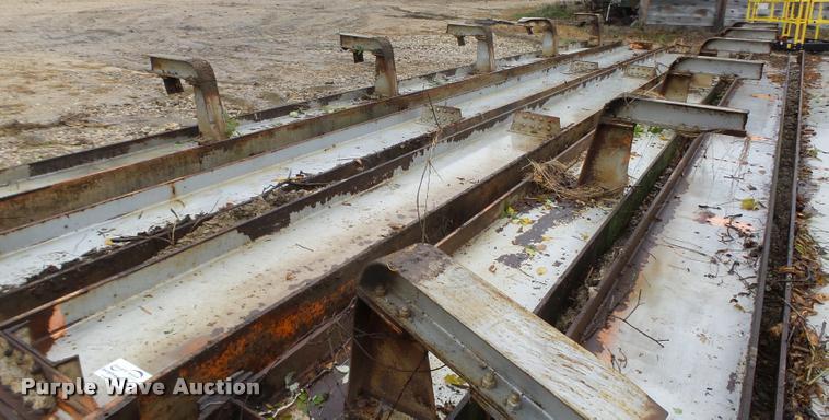 (4) steel I-beams