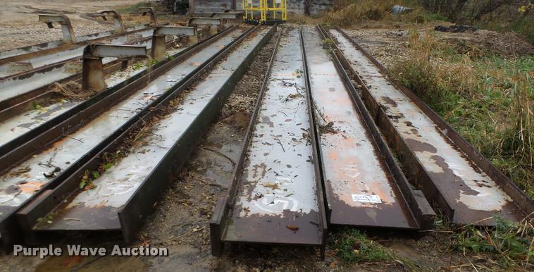 (5) steel I-beams